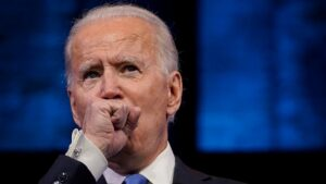 Reporters Want Answers on Biden's Persistent Cough Which Consistently Interrupts Briefings